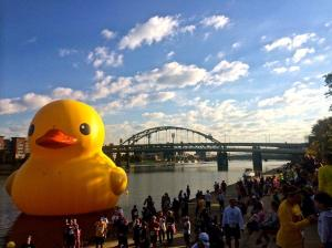 Giant Rubber Duck's American Debut Goes Swimmingly - Wired Science